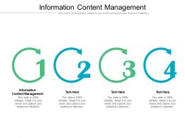 Information Content Management Ppt Powerpoint Presentation Icon Templates Cpb