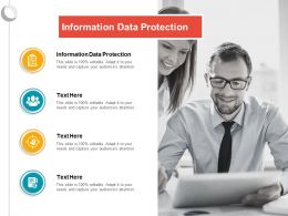 Information Data Protection Ppt Powerpoint Presentation Ideas Show Cpb