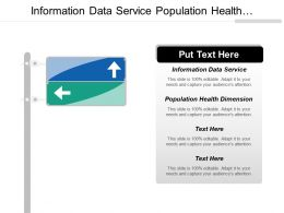 Information Data Service Population Health Dimension Sales Promotion Cpb