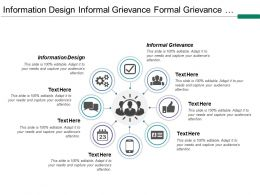 Information Design Informal Grievance Formal Grievance Solution Agreed