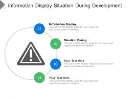 Information Display Situation During Development Deployment Favorite Conditions
