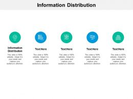 Information Distribution Ppt Powerpoint Presentation Summary Backgrounds Cpb