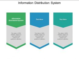 Information Distribution System Ppt Powerpoint Presentation Gallery Shapes Cpb