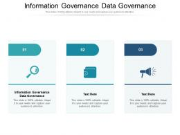 Information Governance Data Governance Ppt Powerpoint Presentation Outline Backgrounds Cpb