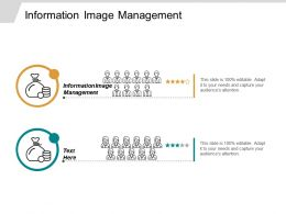 Information Image Management Ppt Powerpoint Presentation Infographics Graphics Cpb