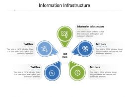 Information Infrastructure Ppt Powerpoint Presentation Gallery Information Cpb
