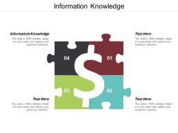 Information Knowledge Ppt Powerpoint Presentation Ideas Background Cpb