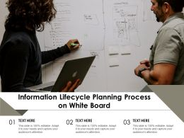 Information Lifecycle Planning Process On White Board