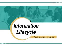 Information Lifecycle Process Business Research Analyze Analysis