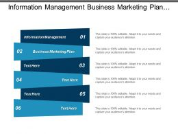 Information Management Business Marketing Plan Capital Budgeting Logistics Management Cpb