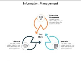Information Management Ppt Powerpoint Presentation Outline Graphics Example Cpb