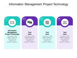 Information Management Project Technology Ppt Powerpoint Portfolio Visuals Cpb