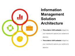 Information Management Solution Architecture Presentation Images