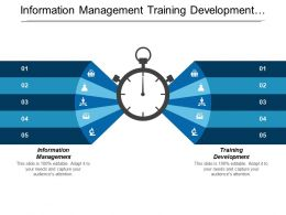 information_management_training_development_business_opportunities_content_marketing_cpb_Slide01