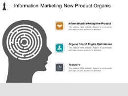 Information Marketing New Product Organic Search Engine Optimization Cpb