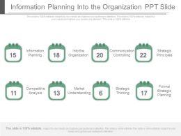 information_planning_into_the_organization_ppt_slide_Slide01