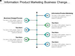 Information Product Marketing Business Change Process Performance Self Assessment Cpb