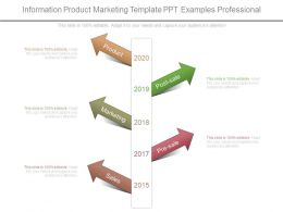 Information Product Marketing Template Ppt Examples Professional