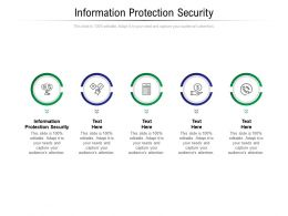 Information Protection Security Ppt Powerpoint Presentation Inspiration Mockup Cpb