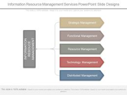 Information Resource Management Services Powerpoint Slide Designs