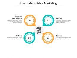 Information Sales Marketing Ppt Powerpoint Presentation Portfolio Graphics Tutorials Cpb