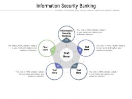 Information Security Banking Ppt Powerpoint Presentation Ideas Cpb