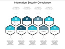 Information Security Compliance Ppt Powerpoint Presentation Model Gridlines Cpb