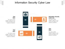Information Security Cyber Law Ppt Powerpoint Summary Example File Cpb