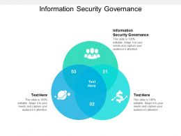 Information Security Governance Ppt Powerpoint Presentation Model Topics Cpb
