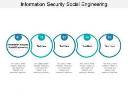 Information Security Social Engineering Ppt Powerpoint Presentation Summary Styles Cpb