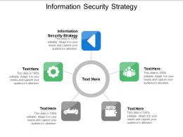 Information Security Strategy Ppt Powerpoint Presentation File Icon Cpb
