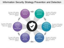 Information Security Strategy Prevention And Detection