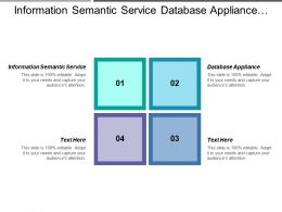 Information Semantic Service Database Appliance Data Quality Tools