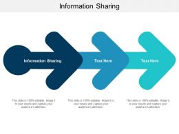 Information Sharing Ppt Powerpoint Presentation Slides Information Cpb