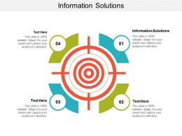 Information Solutions Ppt Powerpoint Presentation Ideas Graphics Cpb