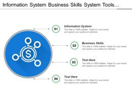 Information System Business Skills System Tools Growth Strategy