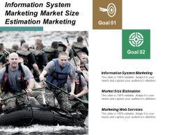 Information System Marketing Market Size Estimation Marketing Web Services Cpb
