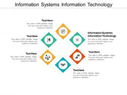 Information Systems Information Technology Ppt Powerpoint Presentation Professional Show Cpb