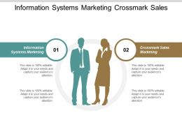 Information Systems Marketing Crossmark Sales Marketing Realtime Market Cpb