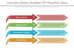 Information Systems Templates Ppt Powerpoint Topics