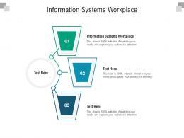 Information Systems Workplace Ppt Powerpoint Presentation Portfolio Model Cpb