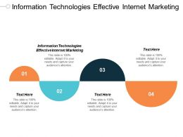 Information Technologies Effective Internet Marketing Ppt Powerpoint Presentation Professional Shapes Cpb