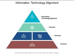 Information Technology Alignment Ppt Powerpoint Presentation Styles Gridlines Cpb