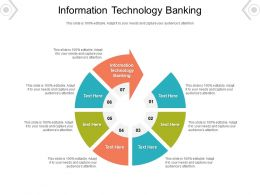 Information Technology Banking Ppt Powerpoint Presentation Inspiration Clipart Images Cpb