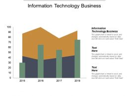 Information Technology Business Ppt Powerpoint Presentation Inspiration Background Image Cpb