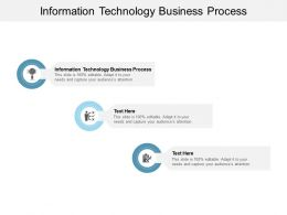 Information Technology Business Process Ppt Powerpoint Presentation Slide Cpb
