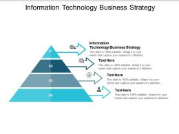 Information Technology Business Strategy Ppt Powerpoint Presentation Styles Icons Cpb