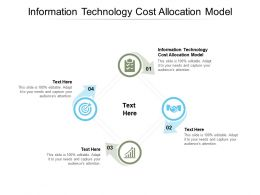 Information Technology Cost Allocation Model Ppt Powerpoint Presentation Layouts Layouts Cpb