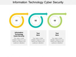 Information Technology Cyber Security Ppt Powerpoint Presentation Summary Background Designs Cpb