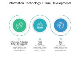 Information Technology Future Developments Ppt Powerpoint Presentation Infographic Cpb